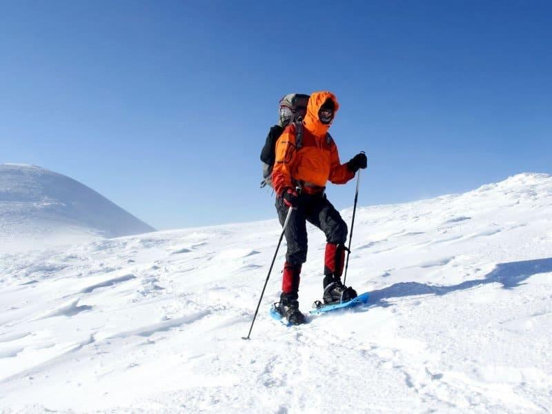 Snow rackets - Valle d'Aosta, Bionaz